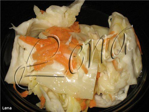 капуста провансаль кусками рецепт
