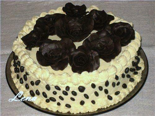Украшение тортов с фото